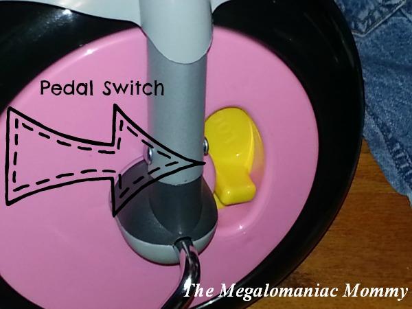 Joovy Tricycoo Pedal Switch, #JoovyMom