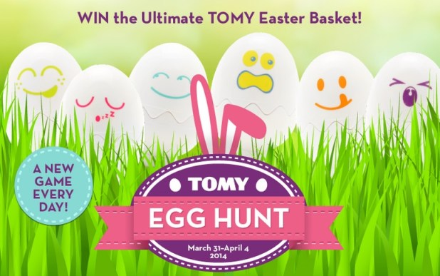 TOMY Easter Egg Hunt Giveaway