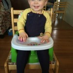 Mealtime Fun with Eric Carle Happy & Hungry Booster Seat