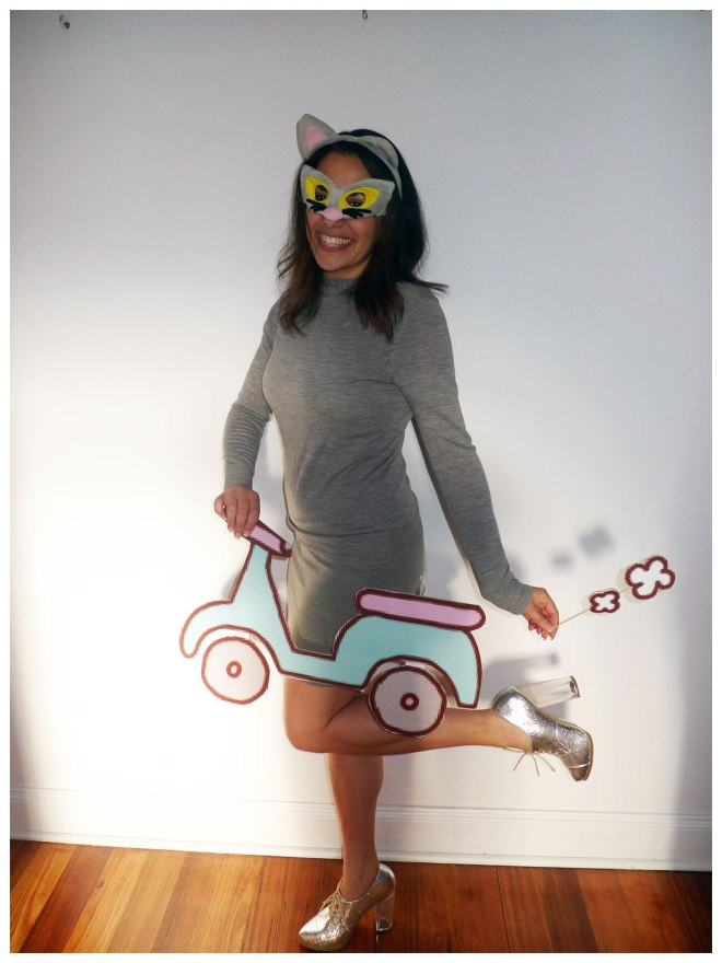 Pusheen the Cat Costume (with Scooter)