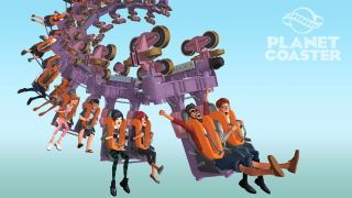 Planet Coaster model inverted roller coaster
