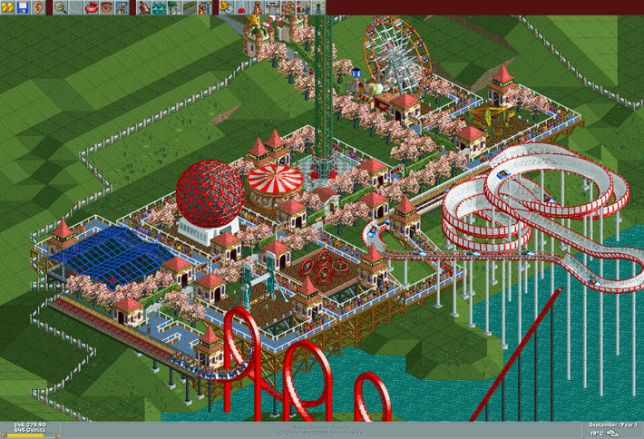 The Original RollerCoaster Tycoon