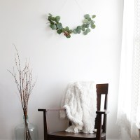 DIY Minimal Wreath