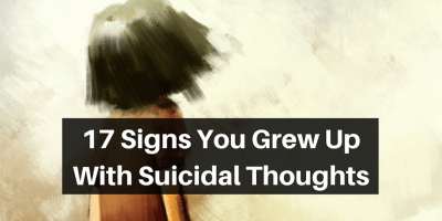 17 Signs You Grew Up With Suicidal Thoughts | The Mighty