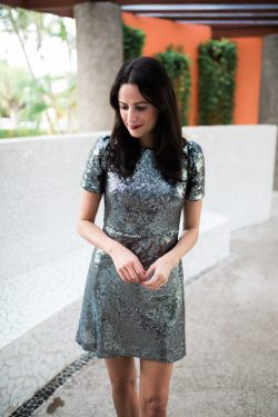 Small Of Silver Sequin Dress