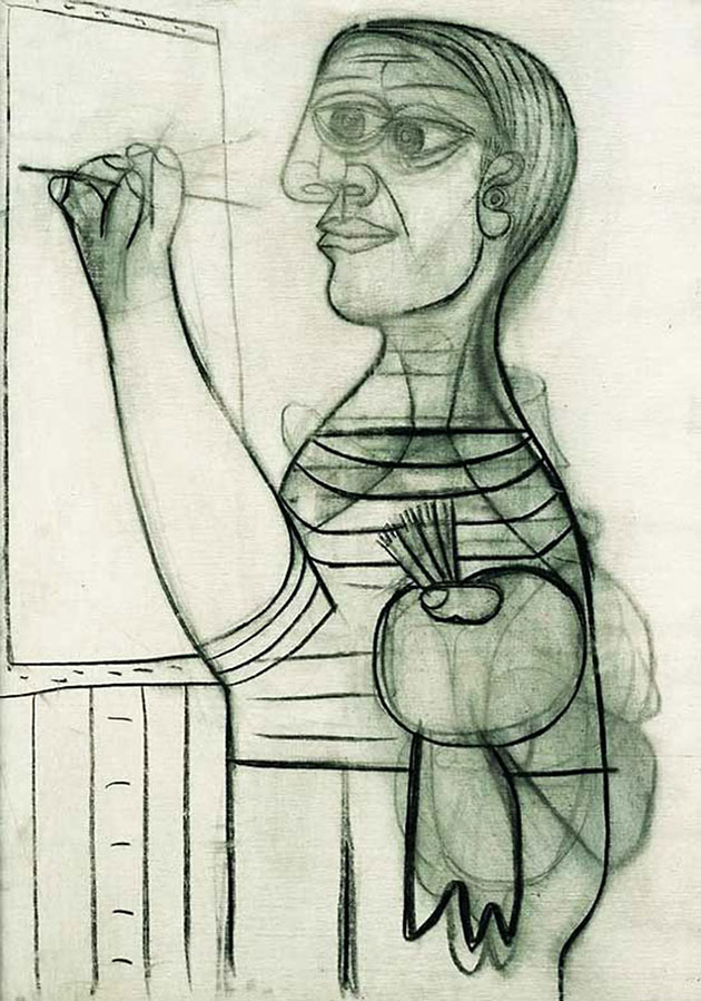 pablo picasso self portraits chronology