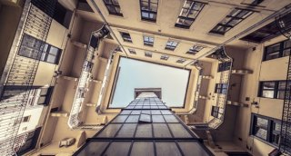 Zsolt Hlinka Turns Budapest's 100-year-old Houses Into Tunnels To The Sky