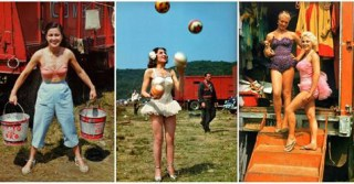 15 Wonderful Color Portrait Photos of Circus Performers From Between the 1940s and 1950s