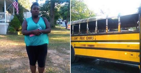 School Bus Driver Calmly Rescues 20 Children From Flaming Vehicle