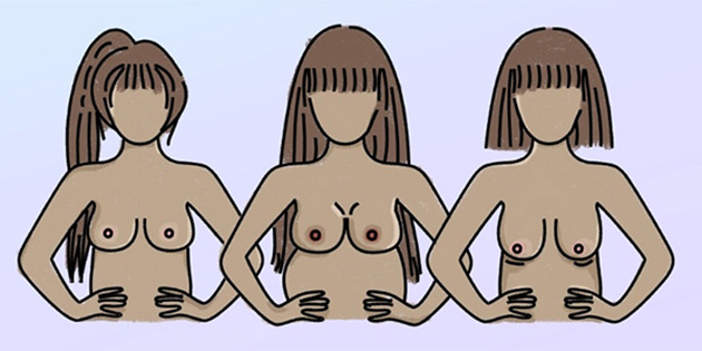 An Illustrated Guide To How Your Boobs Will Change During Your Lifetime