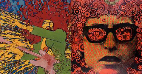 Mind-Blowing Psychedelic 60s Posters of Hendrix, Dylan, Pink Floyd, Dylan, Pink Floyd, Yoko Ono & The Who