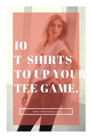 10 t-shirts for spring/summer