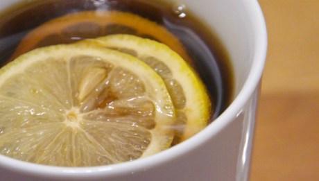 Hot Lemon and Ginger Coke
