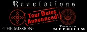 Mission Tour Dates – UK and USA + Canada!