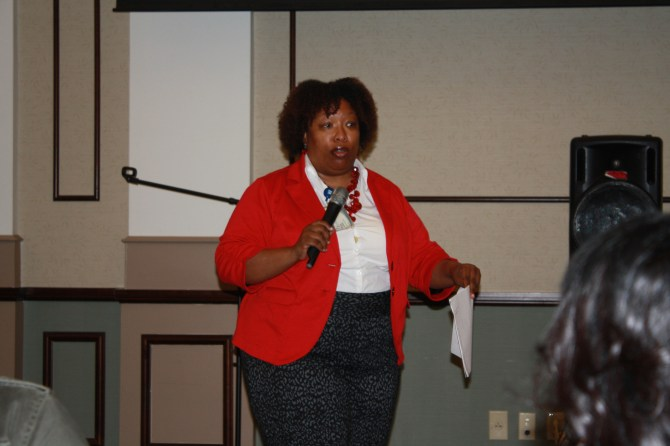 Mauda Monger is the HIV director at UMMC.