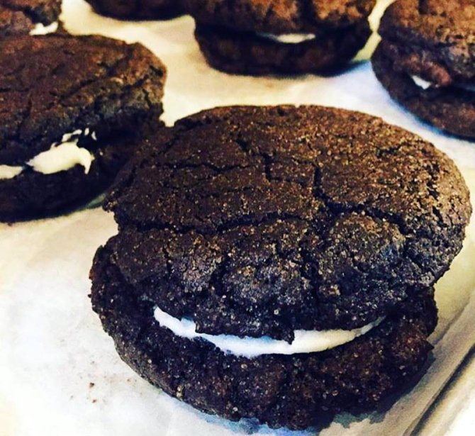 In-house, handmade Oreo cookies are among the many treats available at the new Churn and Spoon: Magnificent Frozen Treats, due to open July 18. Facebook photo
