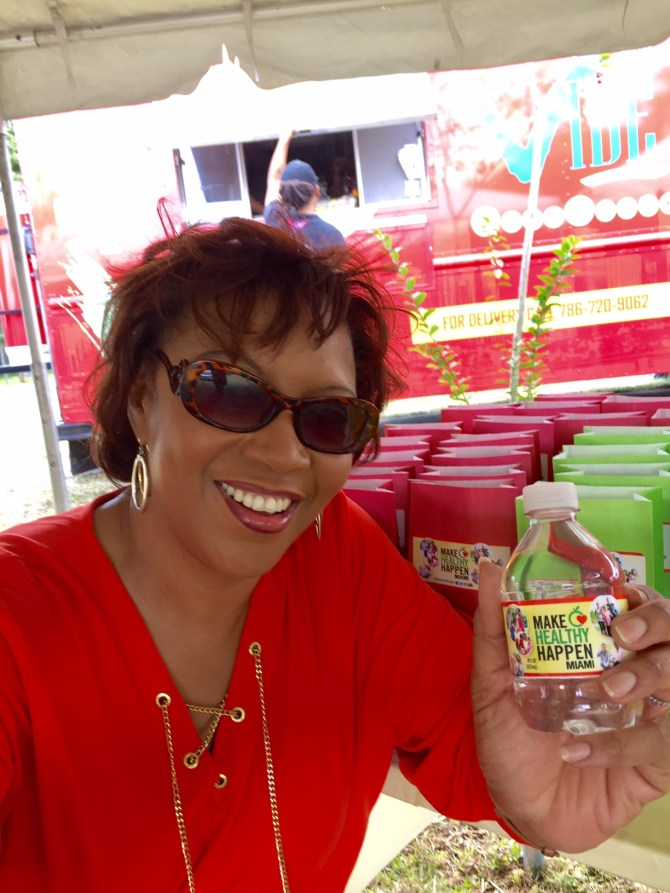 Bernadette Morris, CEO of Sonshine Communications, agency of record (AOR) for the Make Healthy Happen Miami campaign