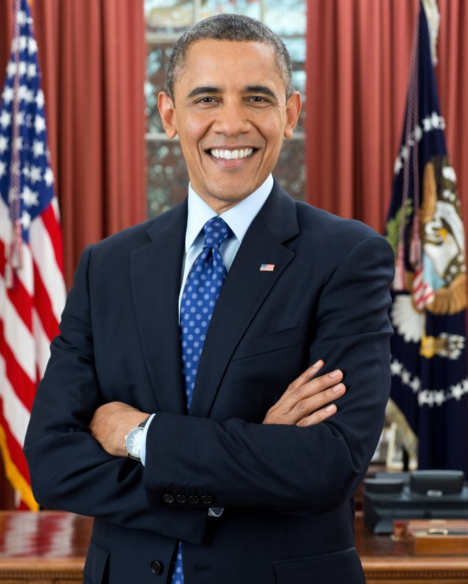 President Barack Obama (Official White House Photo by Pete Souza)