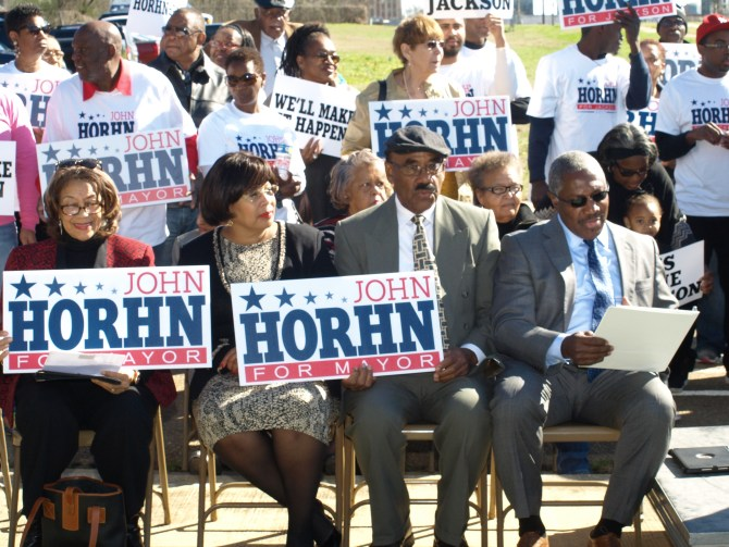 Horhn supporters    PHOTOS BY ANTHONY DEAN