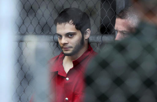In this Jan. 9, 2017, file photo, Esteban Santiago is taken from the Broward County main jail as he is transported to the federal courthouse in Fort Lauderdale, Fla. Just weeks before a gunman opened fire at Fort Lauderdale's airport, he walked into an FBI office in Alaska telling authorities the government was controlling his mind and that he was having terroristic thoughts. Authorities say such walk-ins are a daily occurrence around the country. Assessing whether the people are reporting a credible threat or whether they need medical help is extremely difficult and drains already-stretched law enforcement resources. (Amy Beth Bennett/South Florida Sun Sentinel)