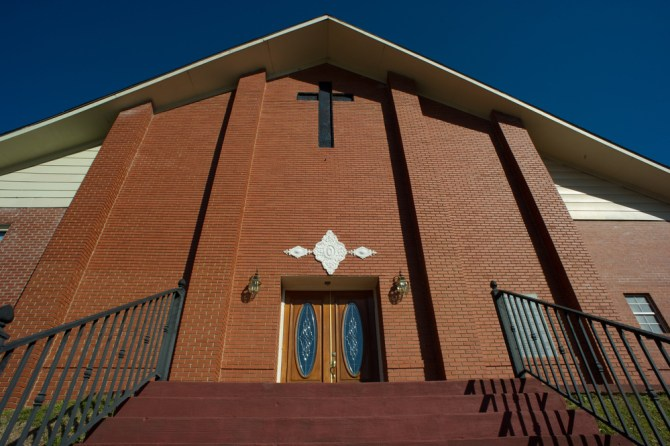 St. Paul Church of God in Christ, 17214 MS-Hwy 17, Lexington, Miss., the birthplace of the COGIC.