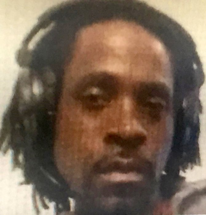 This undated photo provided by the Fresno Police Department shows Kori Ali Muhammad, 39, who was arrested shortly after a shooting rampage outside a Catholic Charities building, in Fresno, Calif, on Tuesday, April 18, 2017. AP