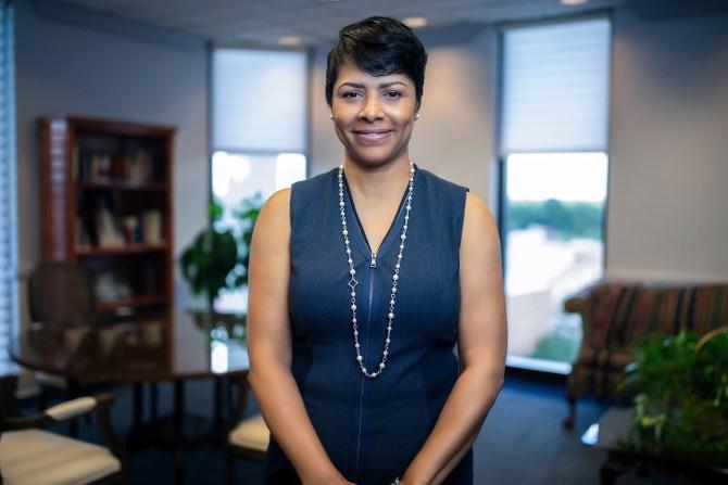 Deborah Elaine Bynum, First Lady of Jackson State University (Charles A. Smith/University Communications)