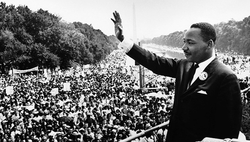 Mainstream media often ignores Dr. Martin Luther King, Jr.'s fight for economic justice and his strong relationship with the Black Press. Wikimedia Commons