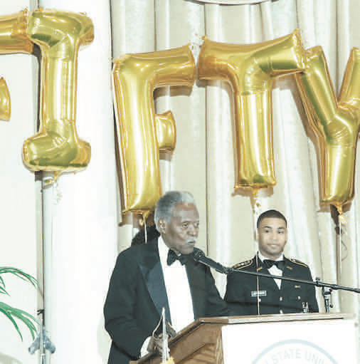 """John A. Peoples Jr., president emeritus at JSU, founded ROTC at Jackson State University a halfcentury ago. """"Bringing ROTC to Jackson State University was not an easy thing. There was so much opposition."""" he said."""