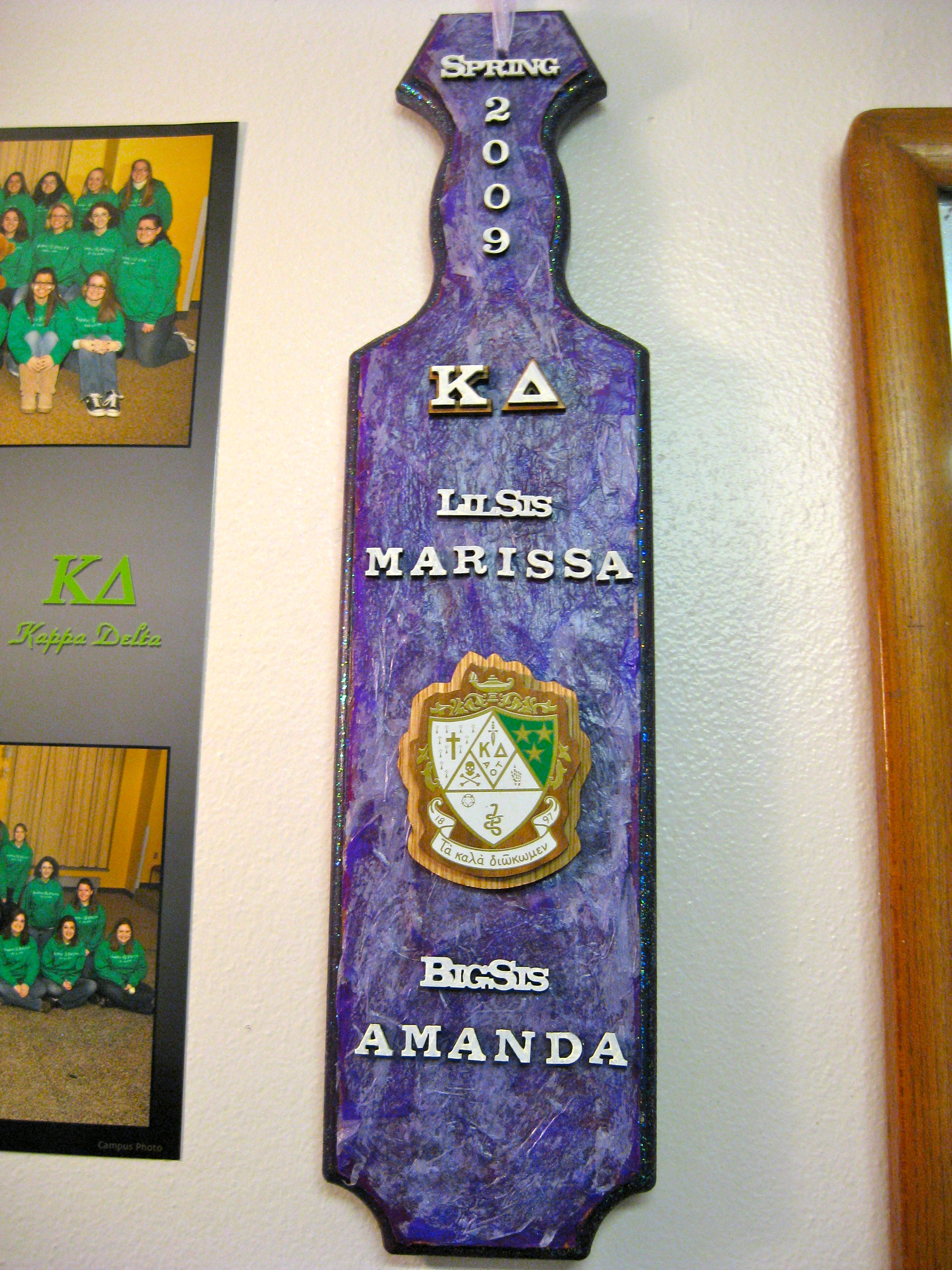 sorority paddle