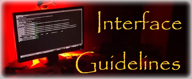 Interface Guidelines Standard