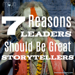 leaders should be great storytellers