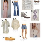 Reader Question:  11 Mom-Drobe Fashion Essentials for Spring / Summer 2011