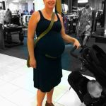 Mom Street Style:  Sara's Simple Summer Pregnancy Look
