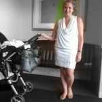 Mom Street Style:  New-Mom Lindsay's Gorgeous White Dress