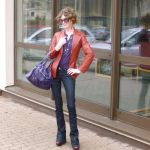 Mom Street Style | Kristen is Mixing Vintage, 70's Inspired Brights