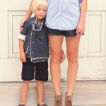 Fall Trend:  Leather (For Mamas!!)