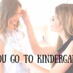 go to Kindergarten hero