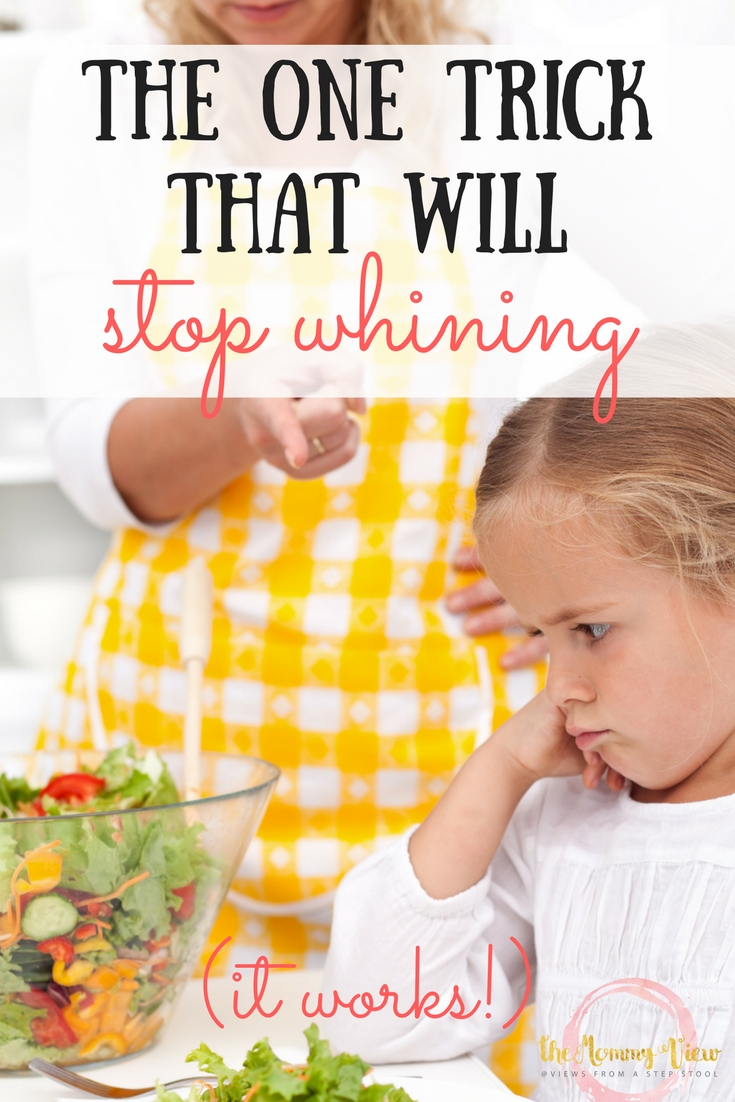 This one trick to stop whining in kids will help you gently teach your child what a rude and whiny voice actually sounds like and how they can change it.
