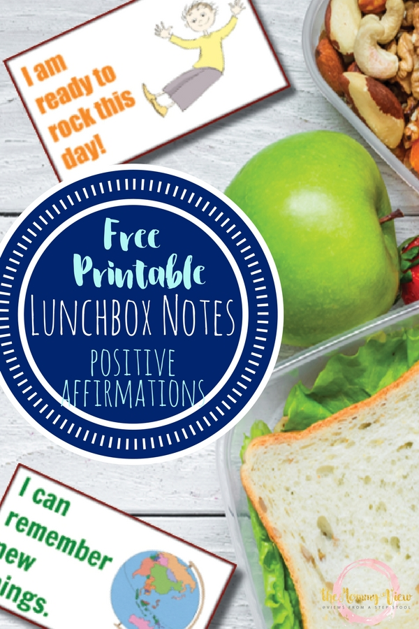 These back to school affirmation lunchbox notes are perfect for a mid-day confidence boost! Great for boosting confidence and self-esteem!
