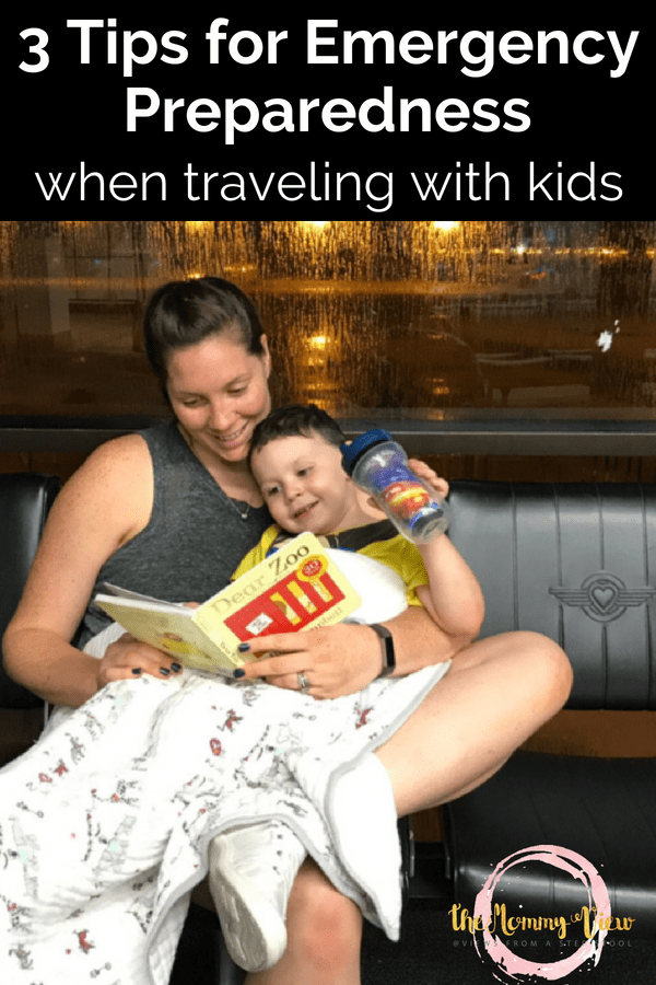 3 tips to stay prepared for emergencies if you like to travel with kids. Family travel is great for fun and bonding, but being prepared it critical. #parenting #traveltips #travelwithkids #familytravel #preparedness #kids
