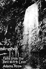 Falls from the Bell Witch Cave