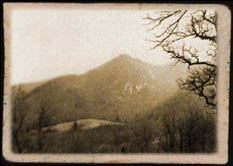 Early Photograph Appalachian Mountains