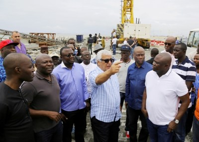 Ambode pledges speedy completion of Eko Atlantic City Project - The Nation Nigeria