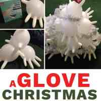 How to Make a Glove Christmas Tree