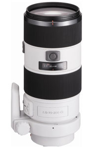 Sony Zoom Lens With Fixed aperture For A77