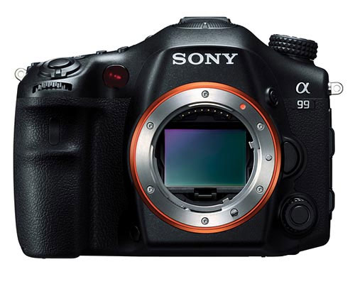 Sony A99 front