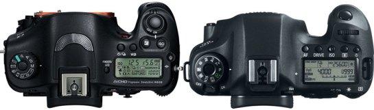 Sony A99 vs Canon 6D