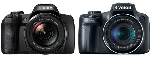 Fujfilm-S1-vs-SX50-HS
