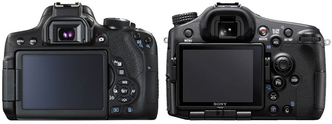 Canon 750D vs. Sony A77 II 2